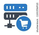 server shopping icon