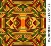 modern ethnic geometric elegant ... | Shutterstock .eps vector #1101570476