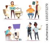 bionic prosthesis design... | Shutterstock .eps vector #1101572270