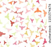 seamless vector pattern with... | Shutterstock .eps vector #1101574676
