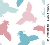 seamless vector pattern with... | Shutterstock .eps vector #1101575003