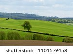 english countryside view | Shutterstock . vector #1101579458