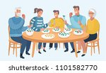 vector cartoon illustration of... | Shutterstock .eps vector #1101582770