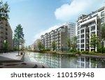 3d building   Shutterstock . vector #110159948