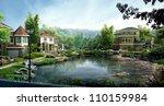 3d building | Shutterstock . vector #110159984
