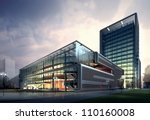 3d building | Shutterstock . vector #110160008