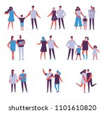 vector illustration in flat... | Shutterstock .eps vector #1101610820