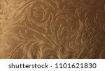 elegant gold textile vintage...   Shutterstock . vector #1101621830
