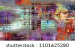 art abstract colorful geometric ... | Shutterstock . vector #1101625280