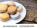 detail on mantecados ... | Shutterstock . vector #1101626144
