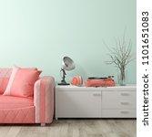 part of modern interior design... | Shutterstock . vector #1101651083
