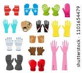 Glove Vector Woolen Xmas...