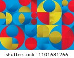 abstract colorful seamless...   Shutterstock .eps vector #1101681266