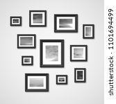 picture frames with nature... | Shutterstock . vector #1101694499