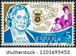 spain   circa 1979  a stamp... | Shutterstock . vector #1101695453