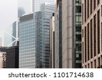 contemporary architecture of... | Shutterstock . vector #1101714638