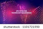 vector abstract background.... | Shutterstock .eps vector #1101721550