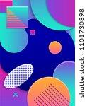 trendy modern design. cover...   Shutterstock . vector #1101730898