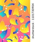 trendy modern design. cover...   Shutterstock . vector #1101730904