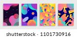 modern abstract covers set.... | Shutterstock . vector #1101730916