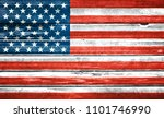united states of america flag... | Shutterstock . vector #1101746990