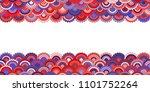 solemn american flag ribbons... | Shutterstock .eps vector #1101752264