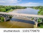 niobrara river with a historic  ... | Shutterstock . vector #1101770870