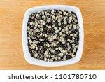 urad dal  also called uris... | Shutterstock . vector #1101780710