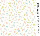 vector tiny pastel confetti... | Shutterstock .eps vector #1101782489