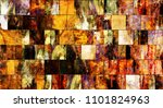 art abstract colorful geometric ... | Shutterstock . vector #1101824963