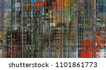 art abstract colorful geometric ... | Shutterstock . vector #1101861773