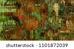 art abstract colorful geometric ... | Shutterstock . vector #1101872039