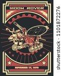 vector moon rover soviet space... | Shutterstock .eps vector #1101872276