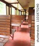 train interior classic | Shutterstock . vector #1101875240