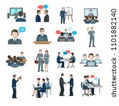 doing work business office | Shutterstock . vector #1101882140
