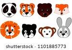 vector illustration set of... | Shutterstock .eps vector #1101885773