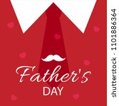 happy father's day vector... | Shutterstock .eps vector #1101886364