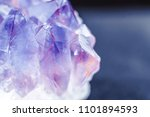 crystal stone macro mineral... | Shutterstock . vector #1101894593