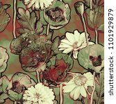 art vintage blurred colorful... | Shutterstock . vector #1101929879