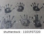 Picture Of A Child's Hand On...