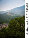 Small photo of the Great Wall of China, china, 2013 summer view