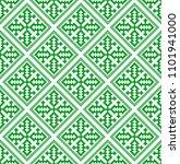 hmong pattern seamless texture... | Shutterstock .eps vector #1101941000