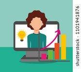people saving money   Shutterstock .eps vector #1101941876