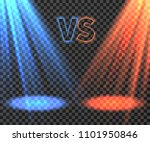 versus battle futuristic screen ...   Shutterstock . vector #1101950846