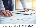 business man or accountant... | Shutterstock . vector #1101963740