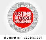 crm   customer relationship... | Shutterstock . vector #1101967814