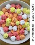 sugar coated chickpeas snack... | Shutterstock . vector #1101973253