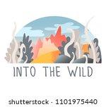 cute vector illustration of... | Shutterstock .eps vector #1101975440