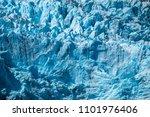 blue glacier texture. part of... | Shutterstock . vector #1101976406