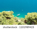 amazing coast in lozica near... | Shutterstock . vector #1101989423